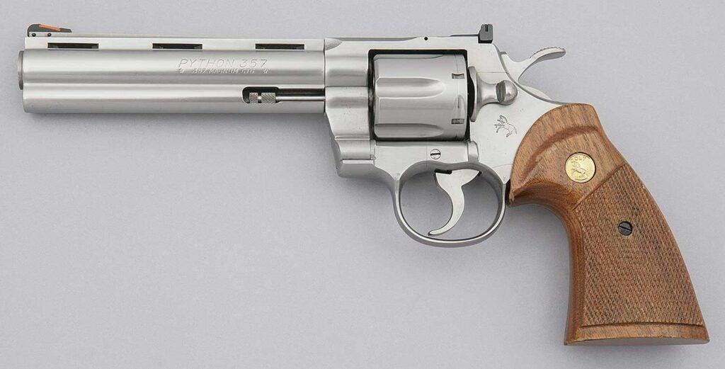 The Colt Python revolver