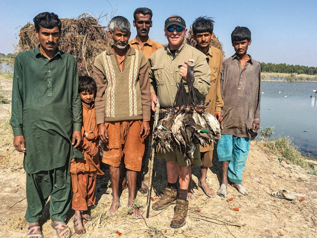 hunter in pakistan with guidestaff