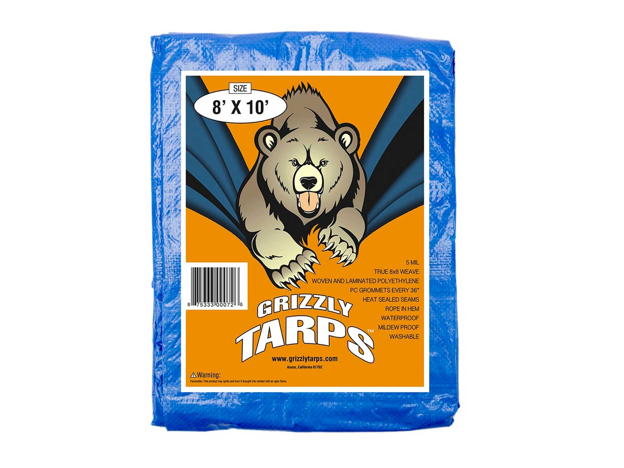 Grizzly waterproof tarp