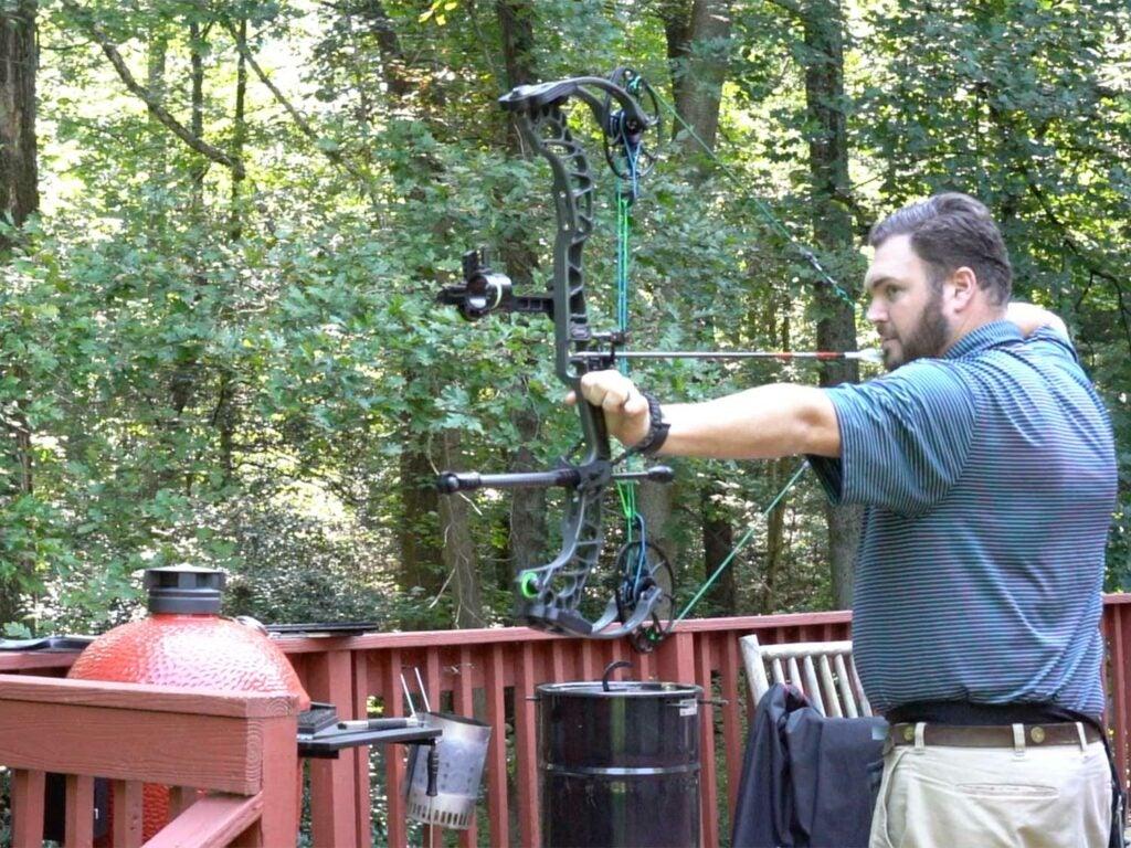 backyard bowhunting training and testing