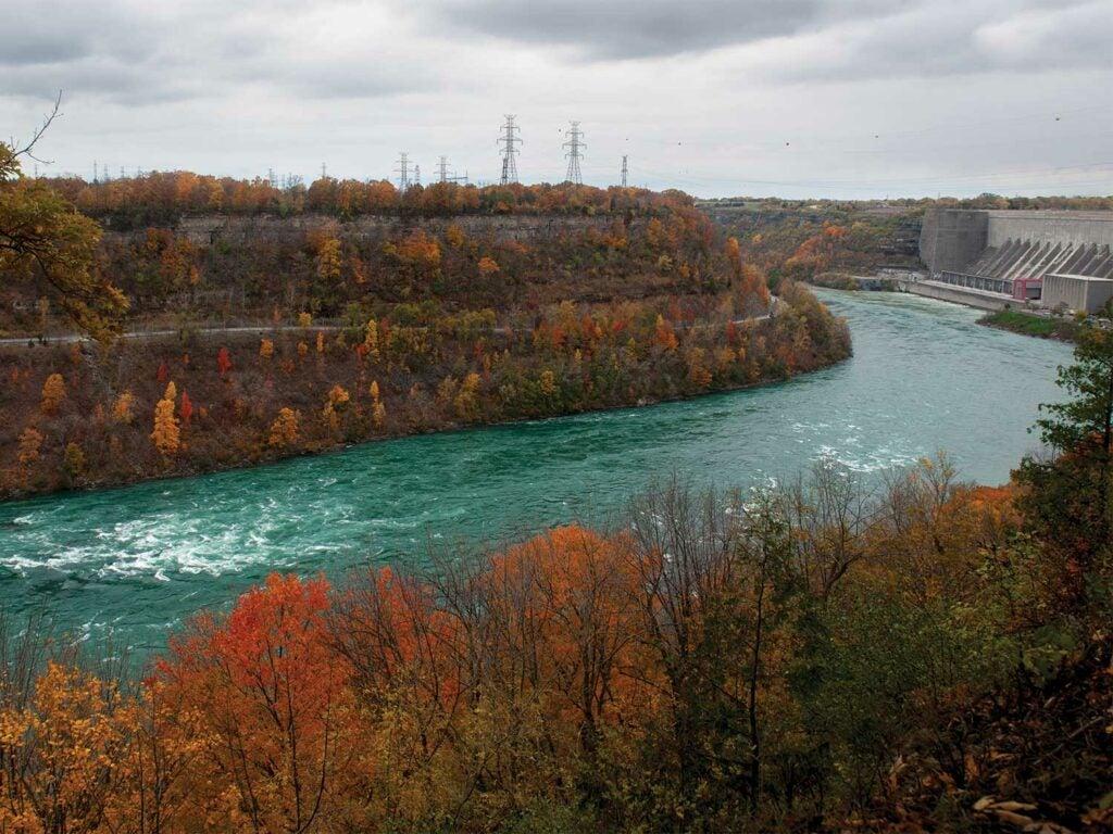 niagra river in late fall