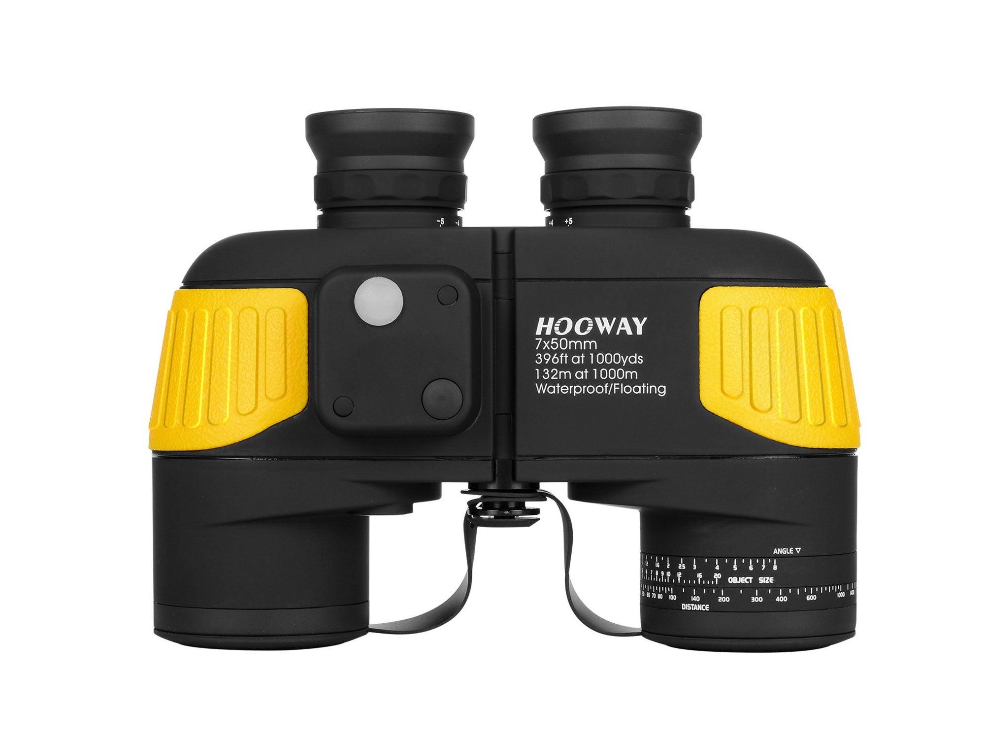Hooway Waterproof Fogproof Military Marine Binoculars