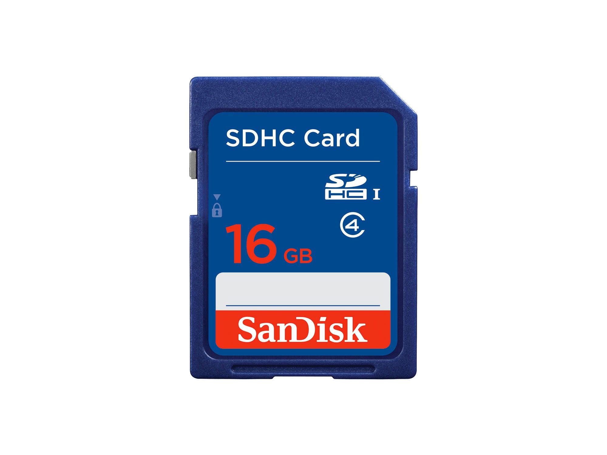 16 GB SD card