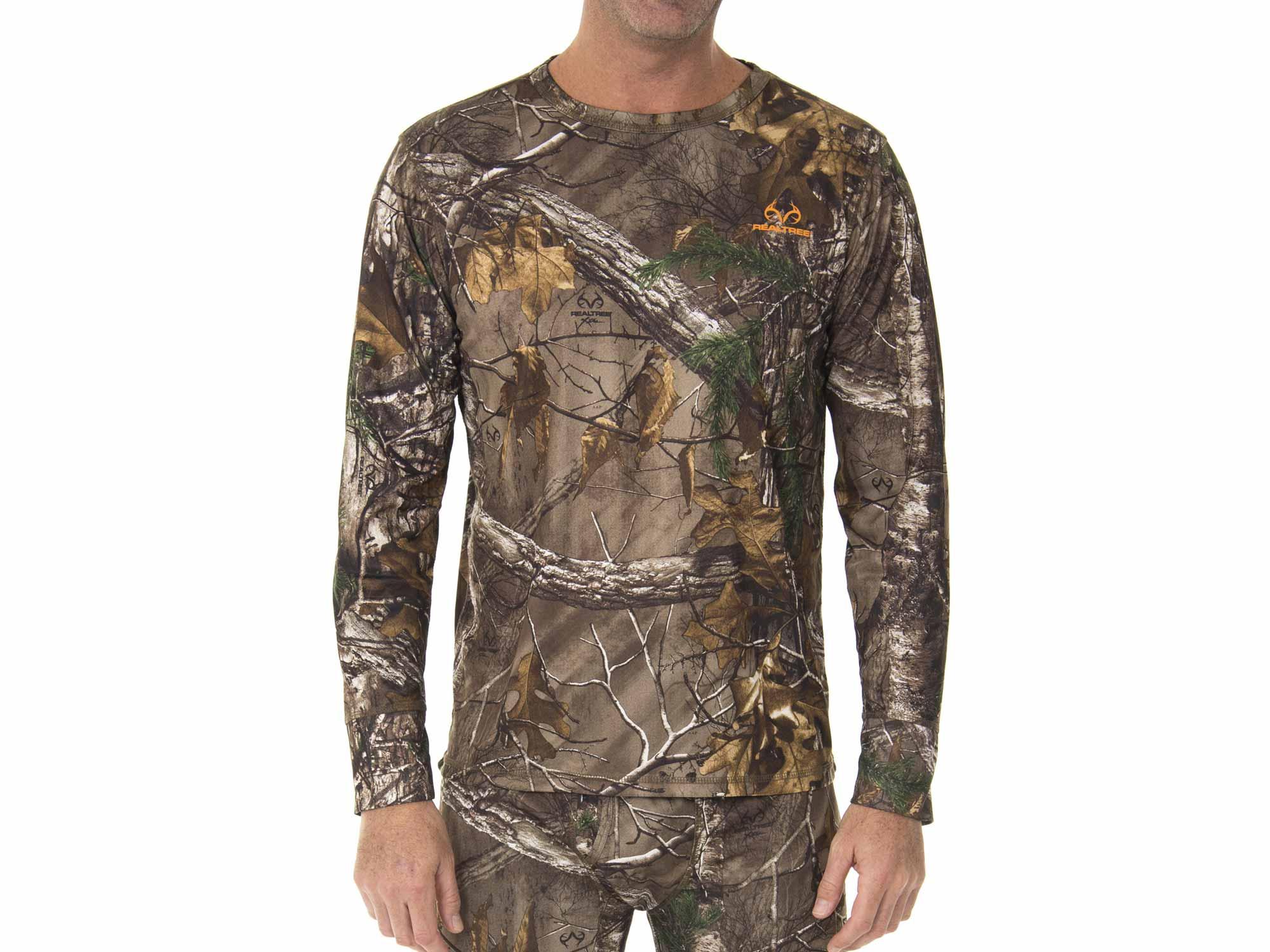Camouflage base layer