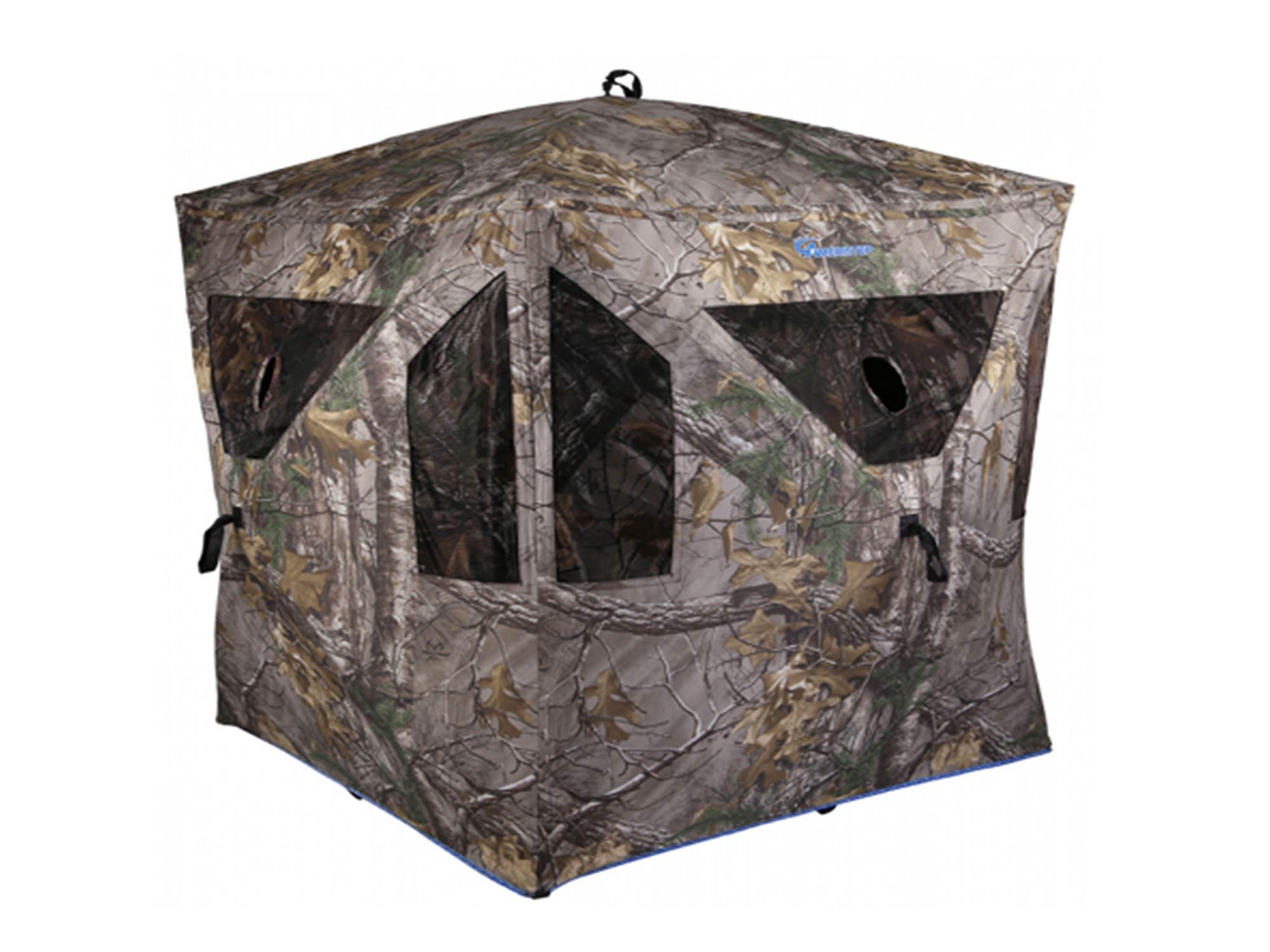 Ameristep camouflage hunting blind