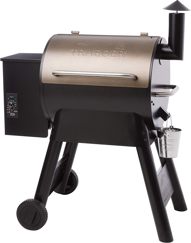 Traeger Grills Pro Series 22 Pellet Grill & Smoker | Bronze, Gen I, 572 Sq. In. Capacity | TFB57PZBO model