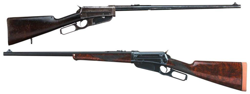restored winchester rifle