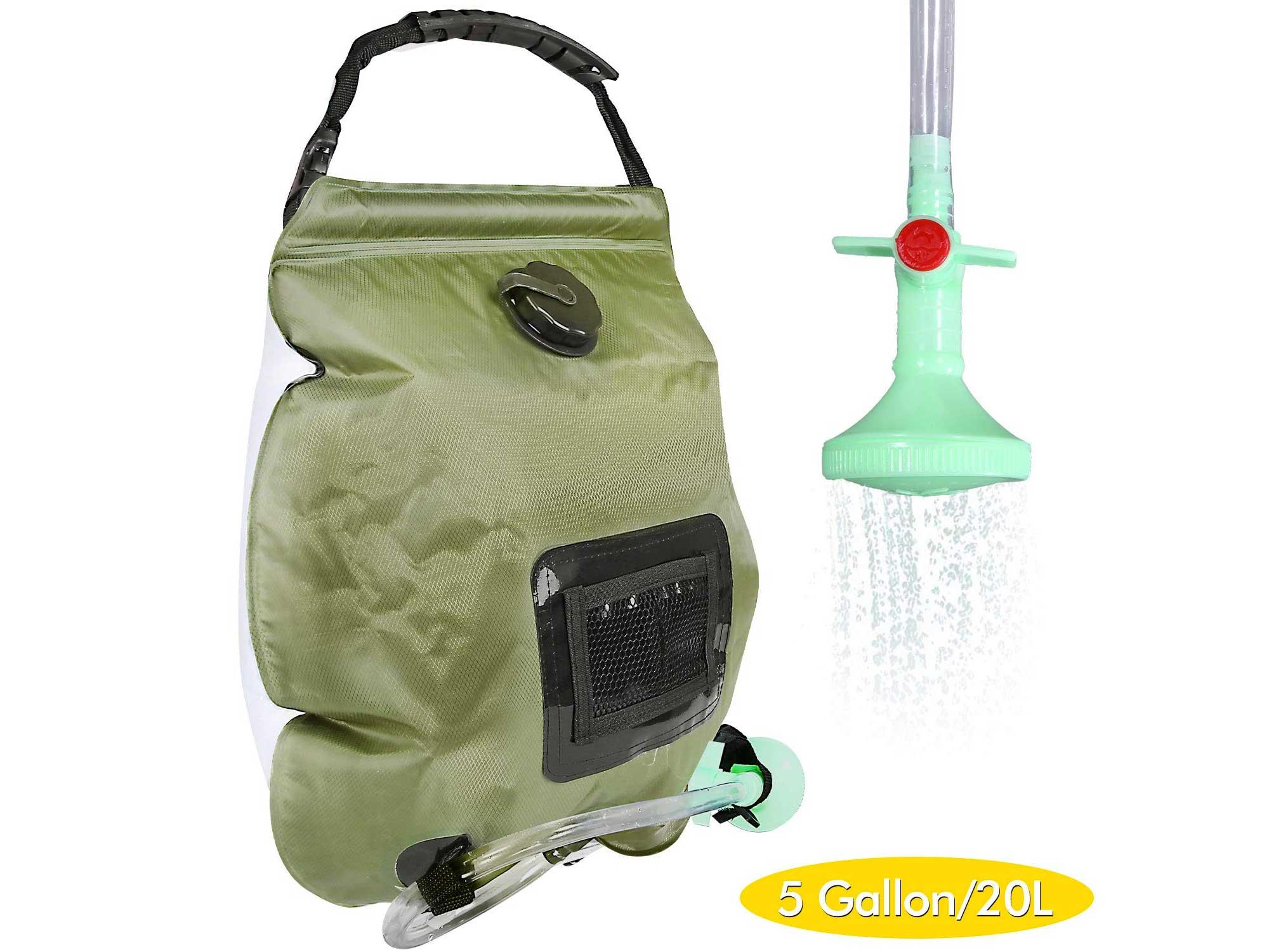 Solar Camping Shower Bag