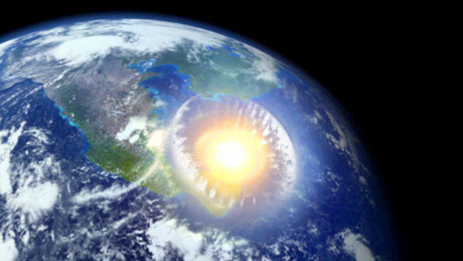 Even a small asteroid strike could set off a chain reaction of tsunamis, earthquakes, and volcanoes