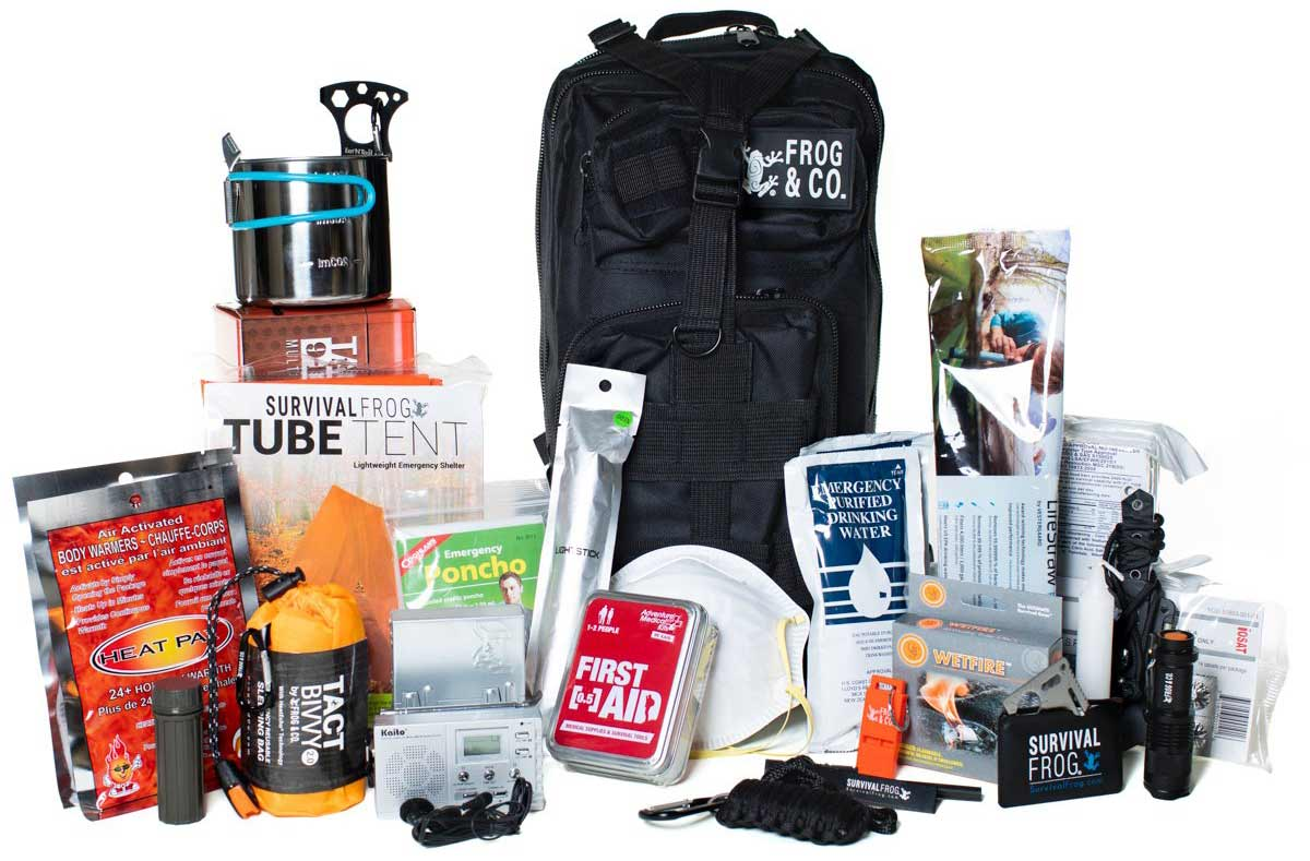 survival frog all in one bug out bag