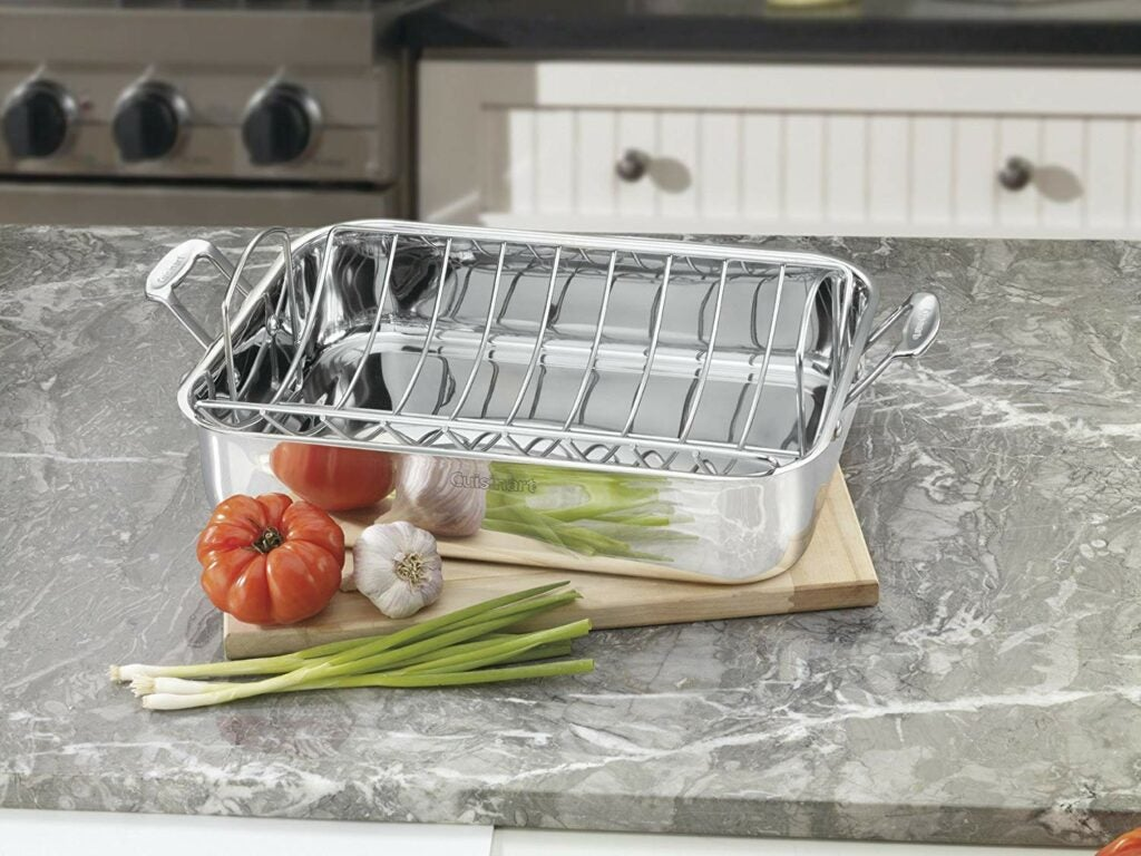 Cuisinart Chef's Classic Stainless  Roaster with Rack