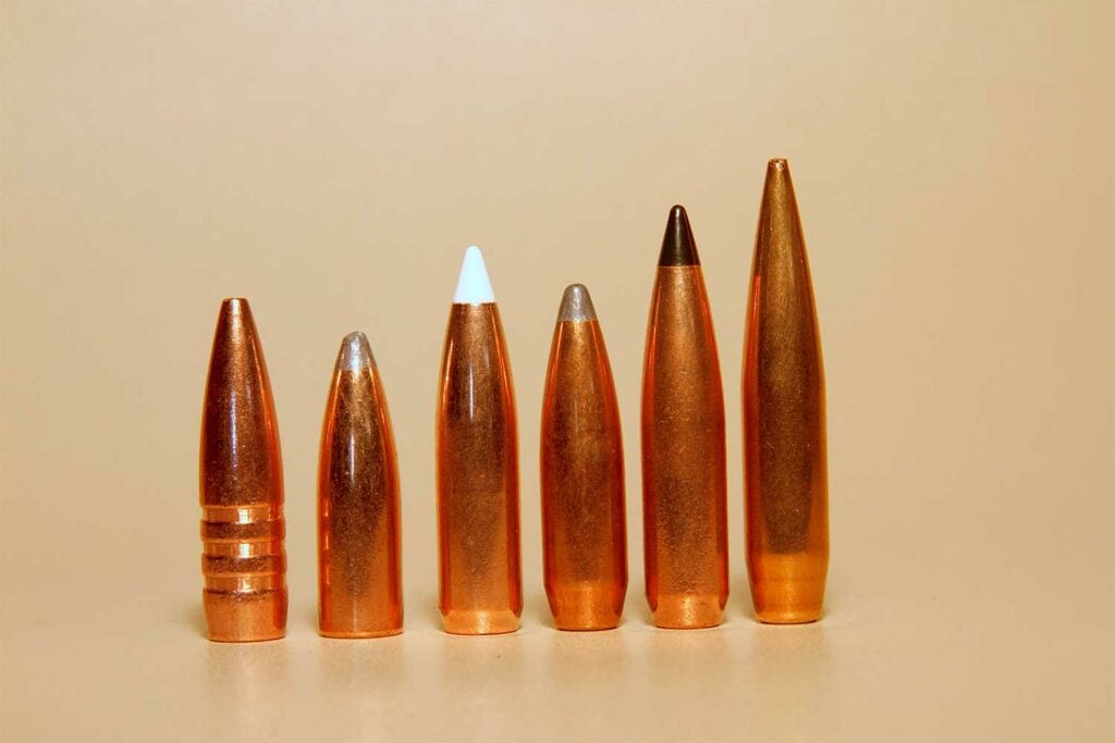 a lineup of 284 bullets