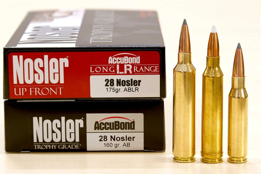 boxes of nosler ammo