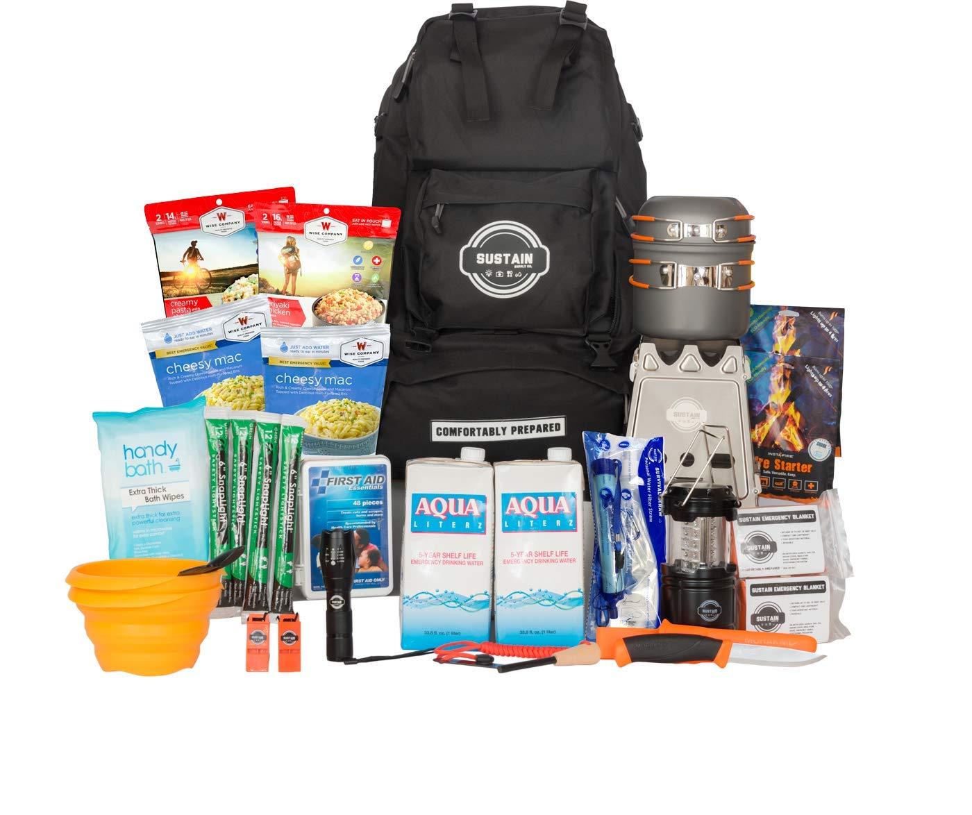 Sustain Supply Co. Premium Emergency Survival Bag