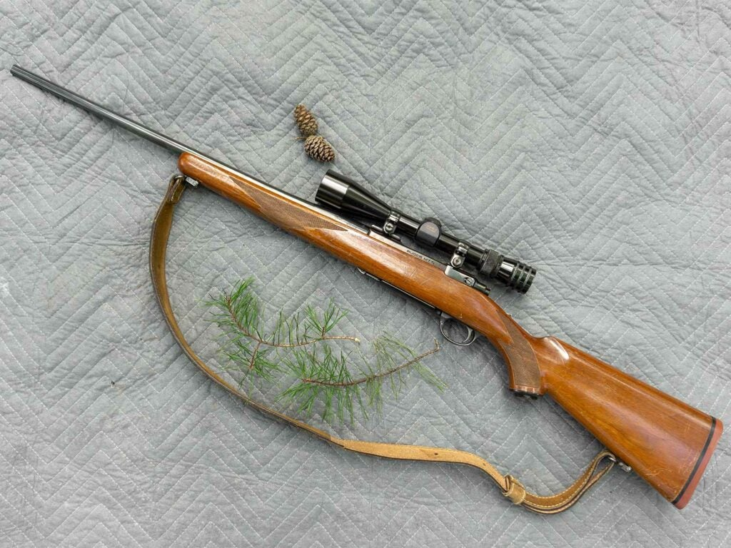 Ruger M77 rifle