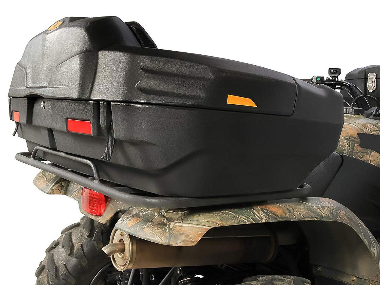 Black Boar ATV Rear Storage Box and Lounger-Integrated Lock