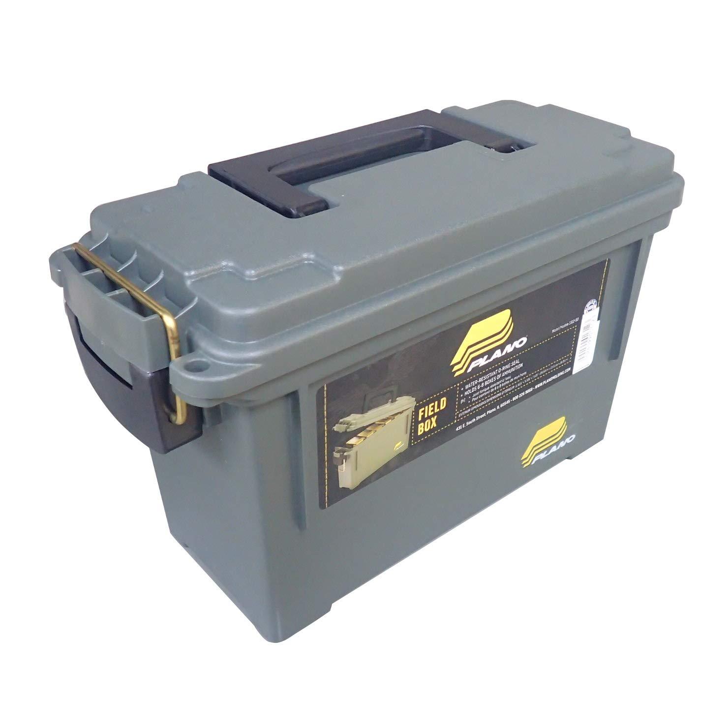Plano Ammunition Field Box Ammo Storage Green