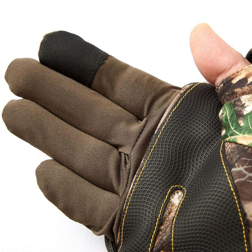 A good pair of hunting gloves should protect your hands from the elements without interfering when the moment of truth arrives.