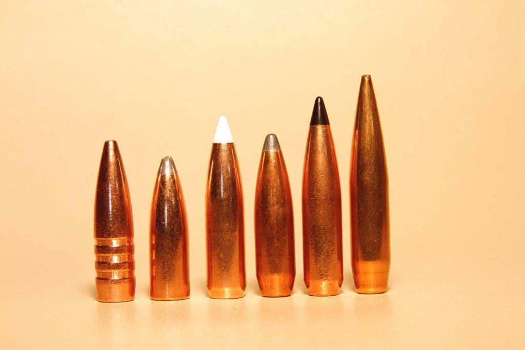 a lineup of 7mm cartridges