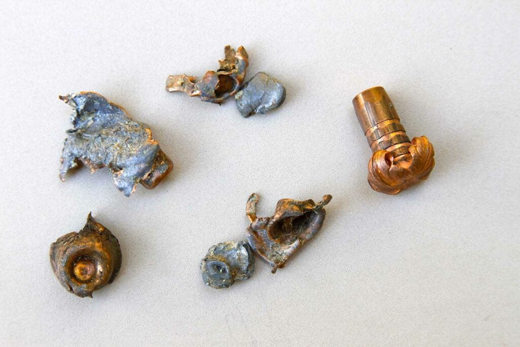 examples of high-impact pressure on bullets.