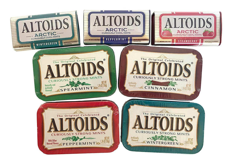 cans of altoids