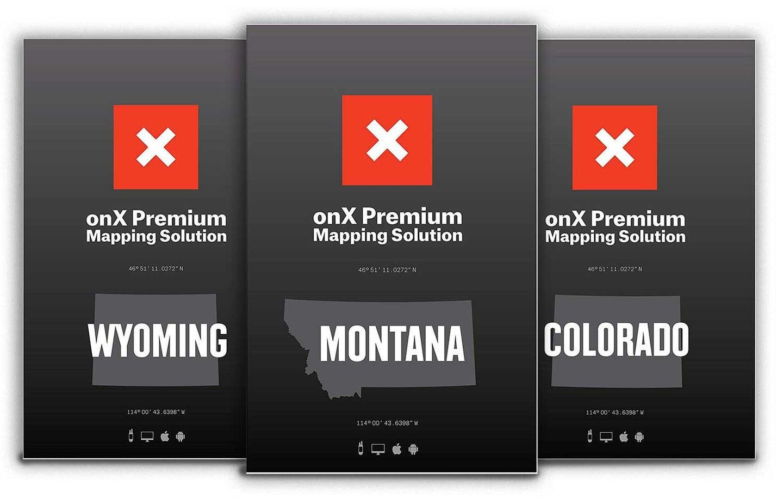 onX Digital Map Subscription