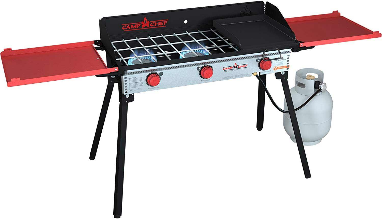 Camp Chef PRO90X Three-Burner Camp Stove