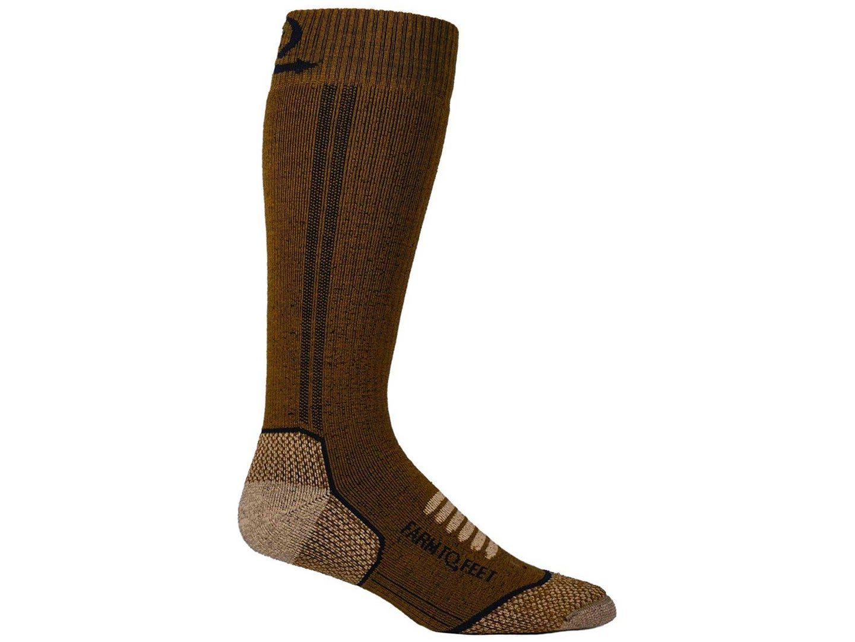 Farm to Feet Men's Ely Midweight Mid-Calf Socks