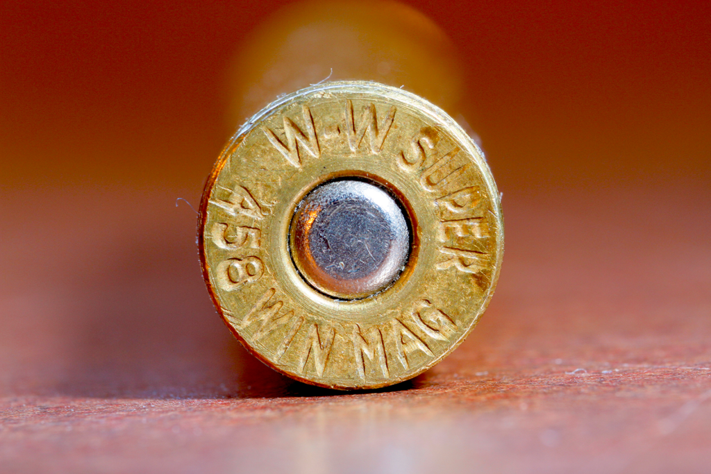 headstamp on a .458 bullet
