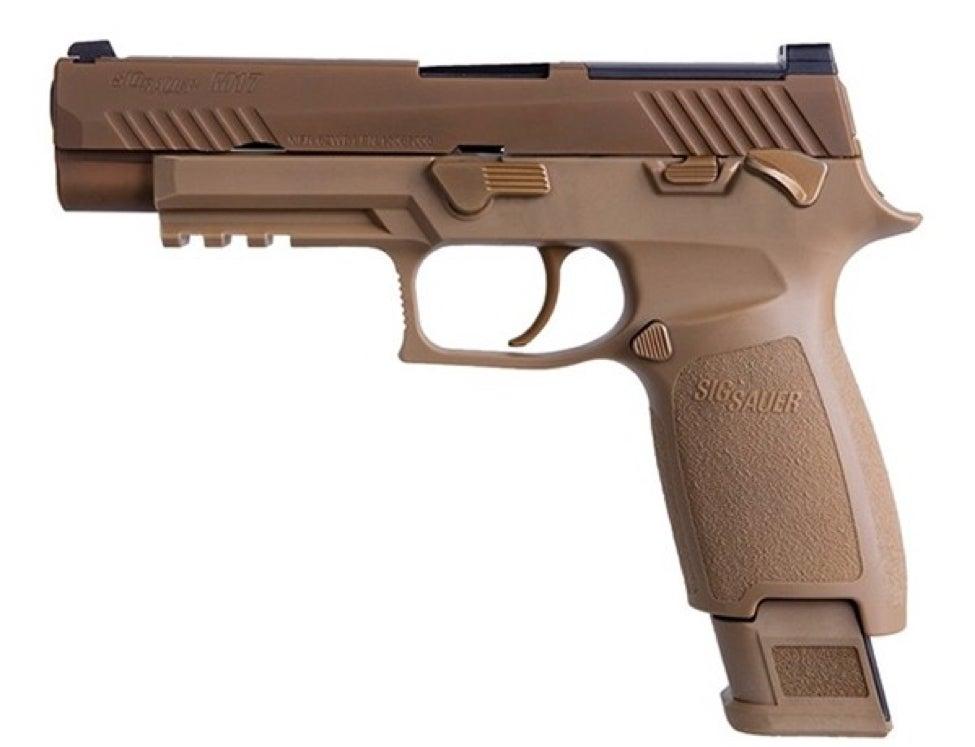 SIG Sauer P320 handgun