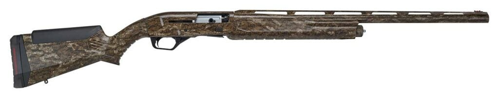 The turkey version of the Renegauge, in Bottomlands camo, with a 24-inch barrel.