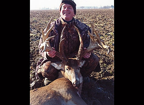 Non-typical whitetail deer - Timothy J. Beck - Huntington Co., Indiana - 305-7/8