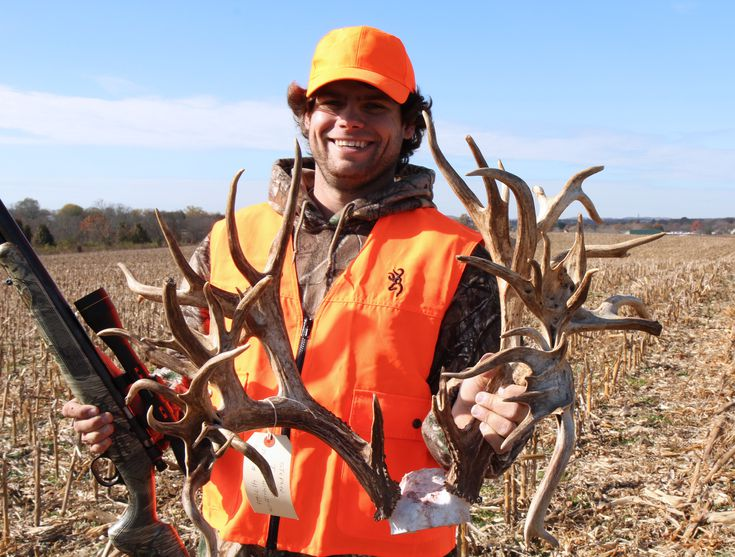 Tucker killed his buck on his family's small farm property