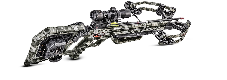 Wicked Ridge M-370 crossbow hunting