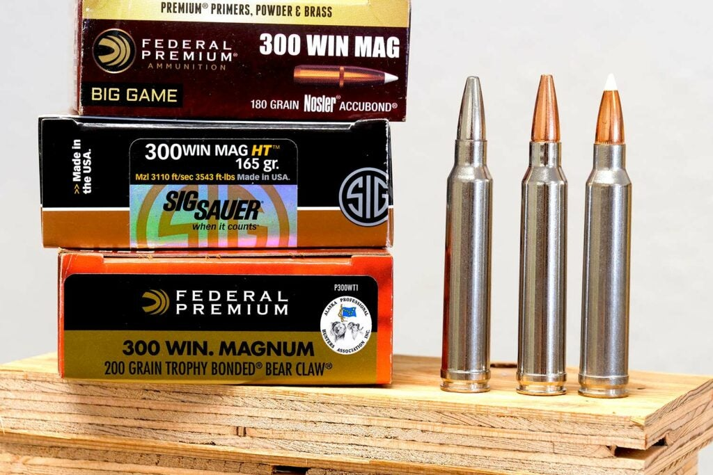 Boxes of hunting ammo.