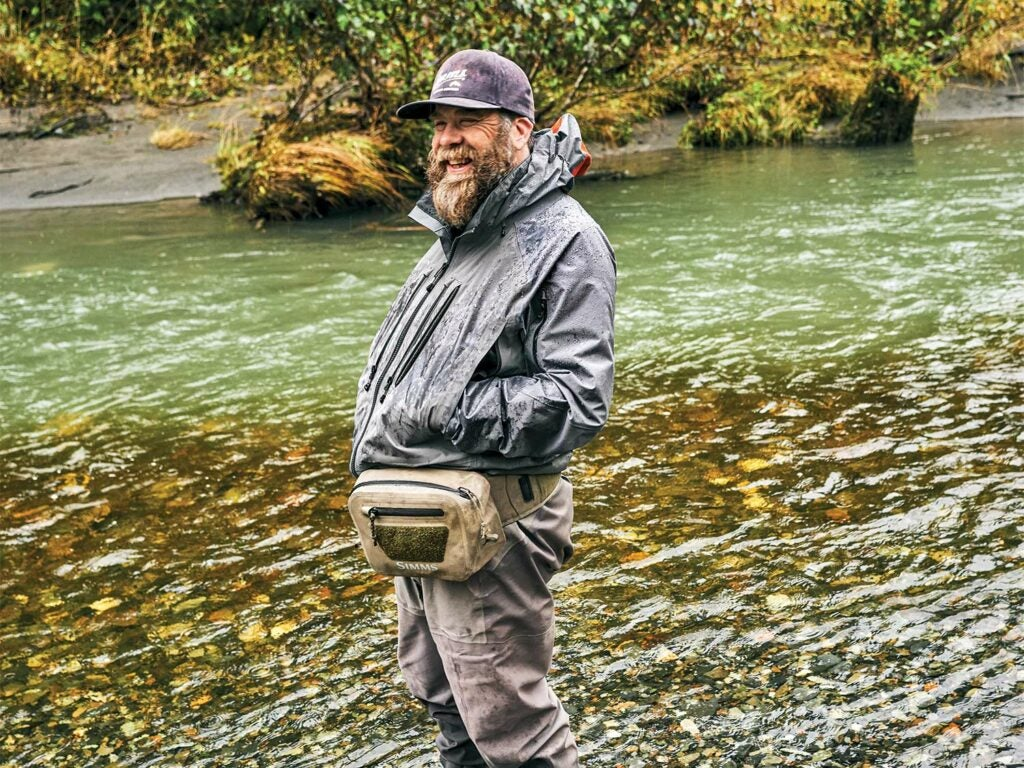 Mark Hieronymus standing in the Tongass National Forest.