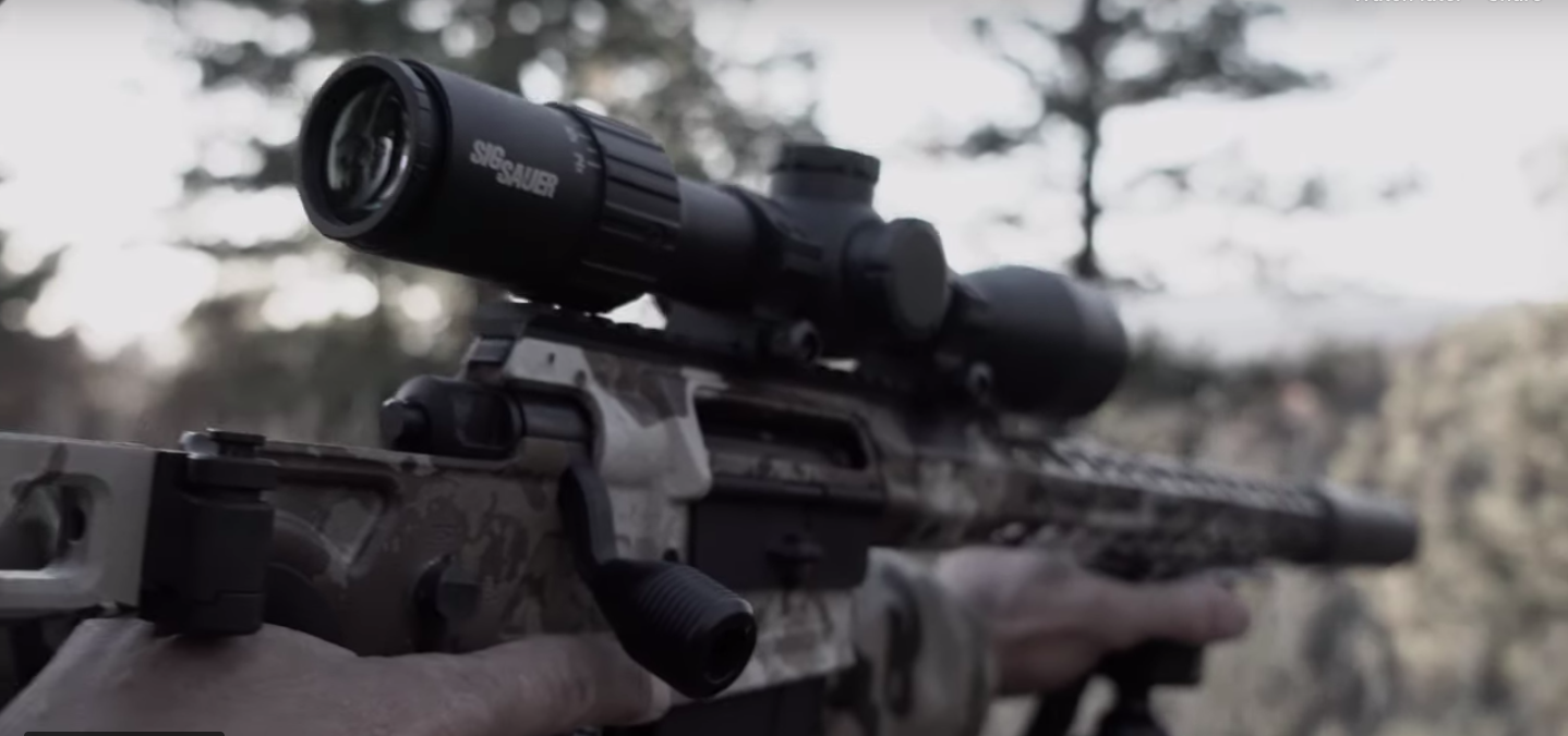 First Look: SIG Sauer Cross Precision Hunting Bolt-Action Rifle