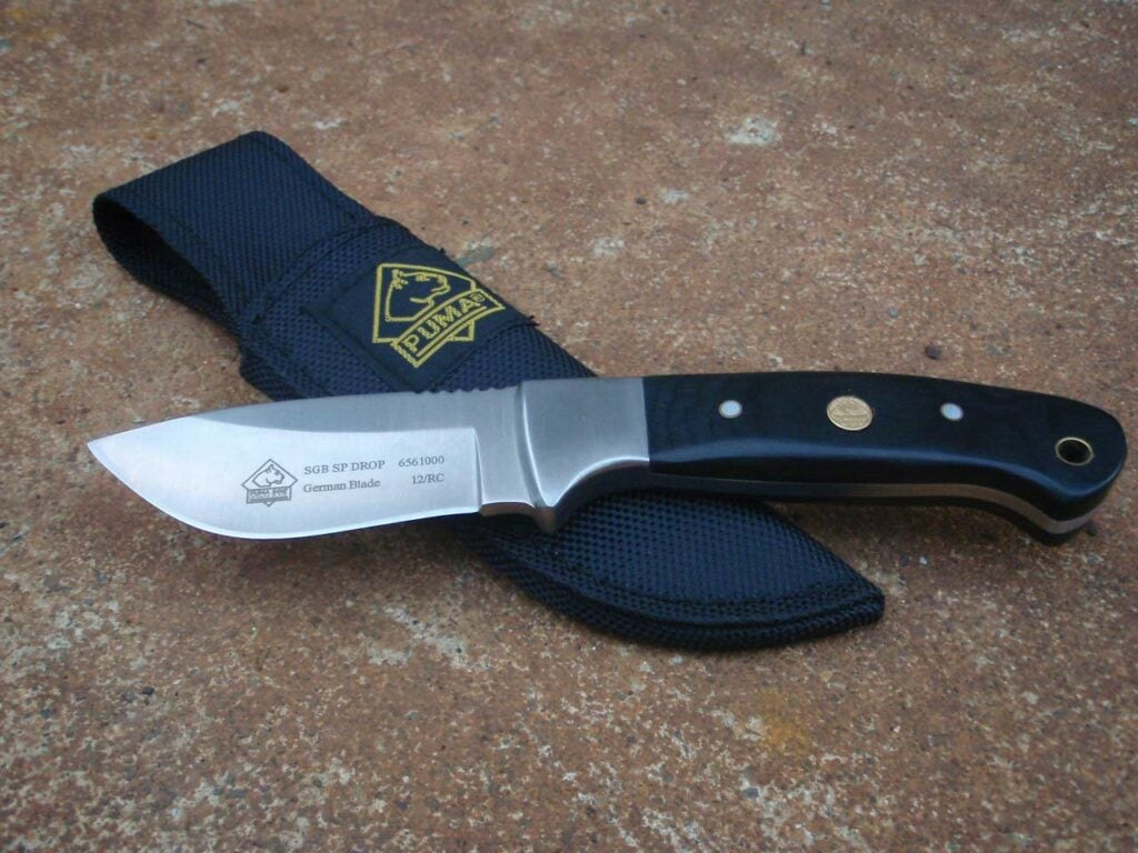 Butchering and Skinning knife used for hunting.
