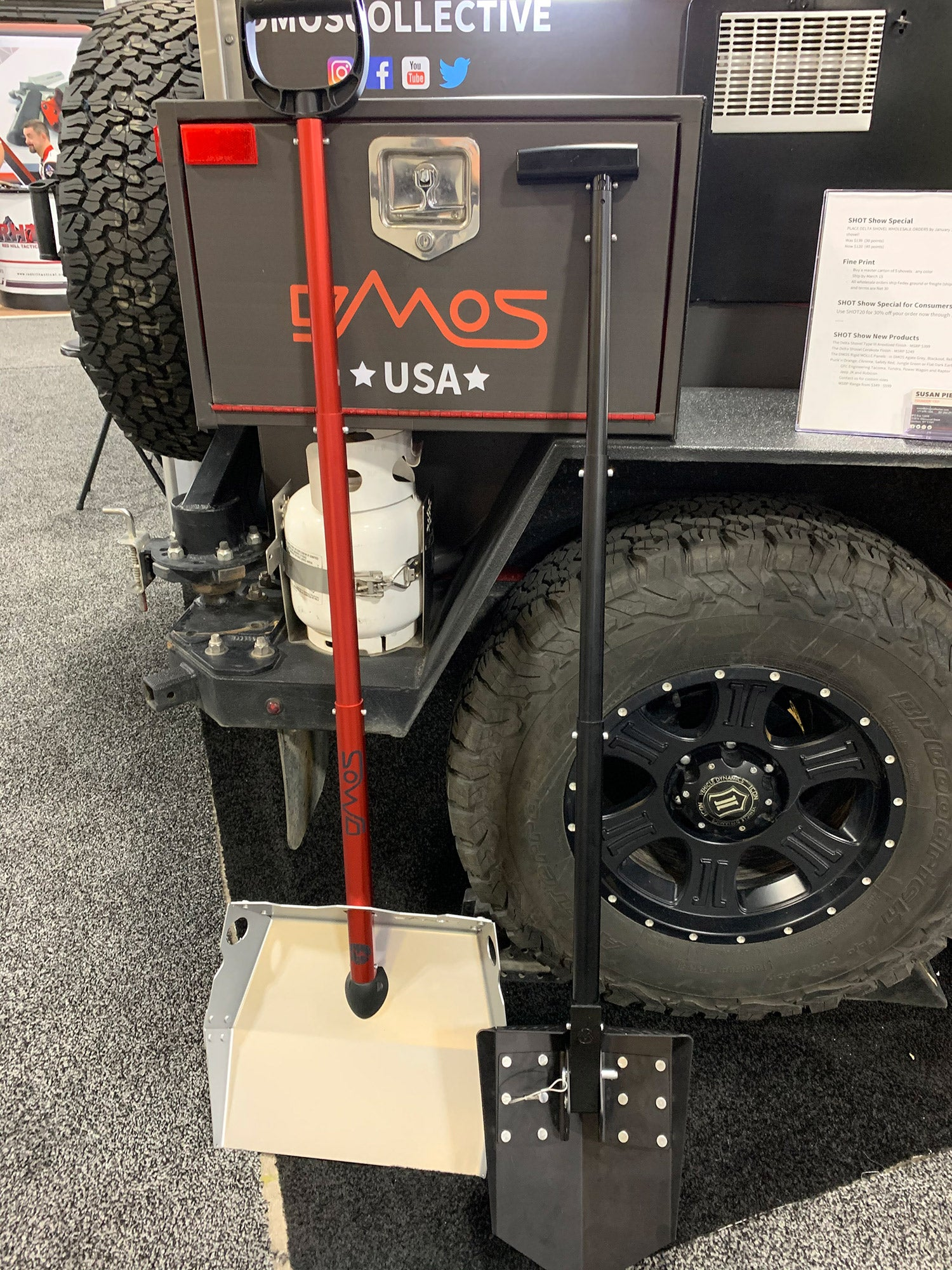 DMOS Delta Shovel