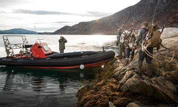 A Boat Hunt for Musk Ox and Caribou in Greenland