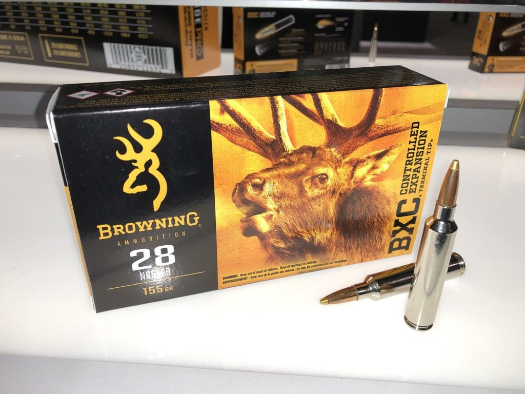 Browning BXS in 28 Nosler.