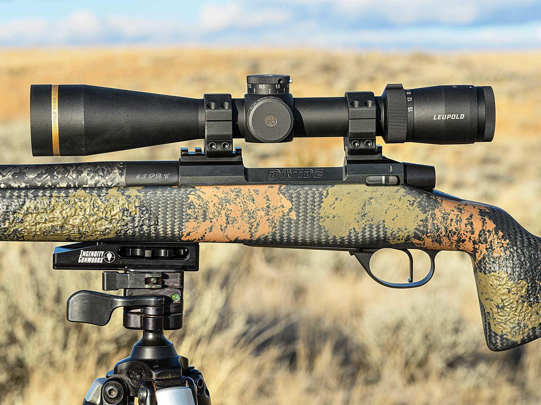 Rifle scoped with Leupold VX-5HD rifle.