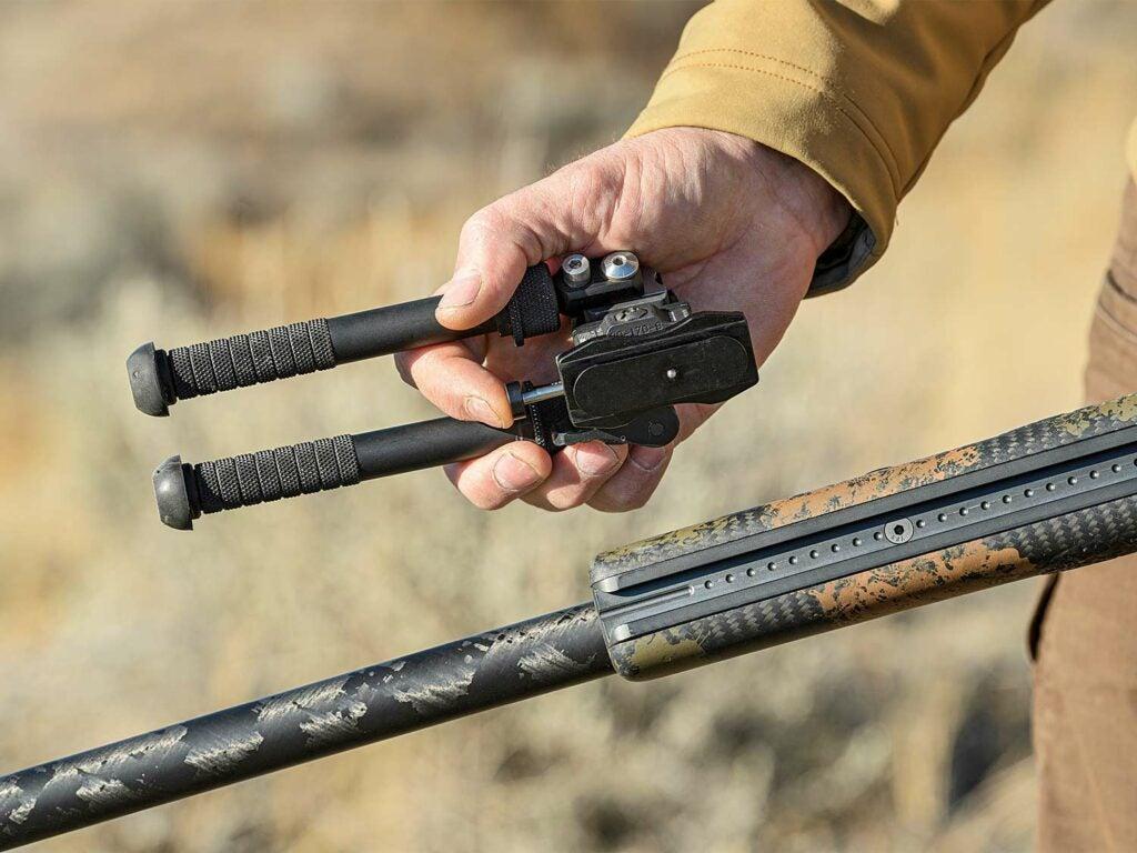 Ingenuity Gunworks rail and bipods.