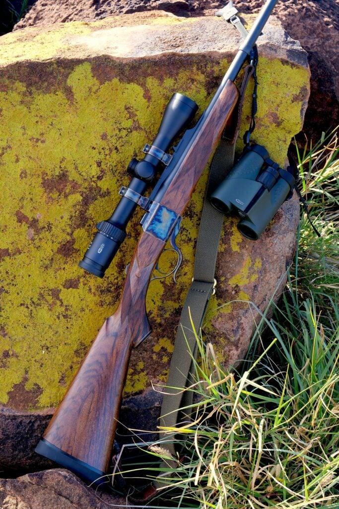 A Dakota Model 10 rifle.
