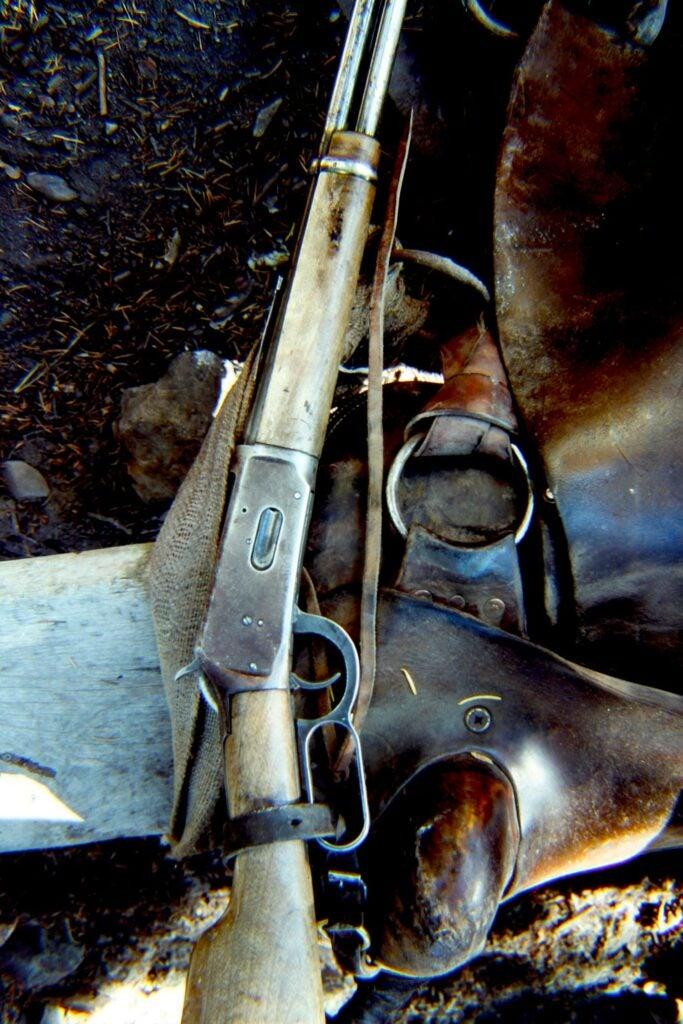 Winchester M94 rifle.