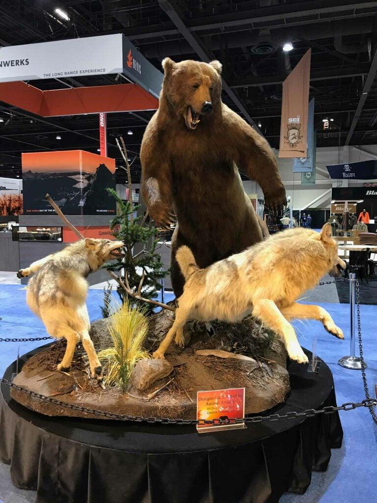 Animal Artistry bear mount