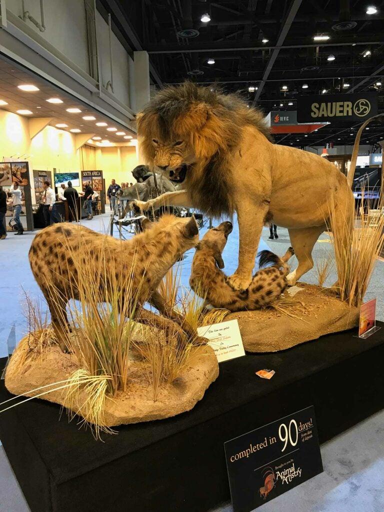 Animal Artistry lion mount