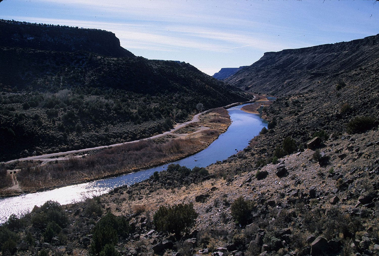 The Rio Chama in New Mexico