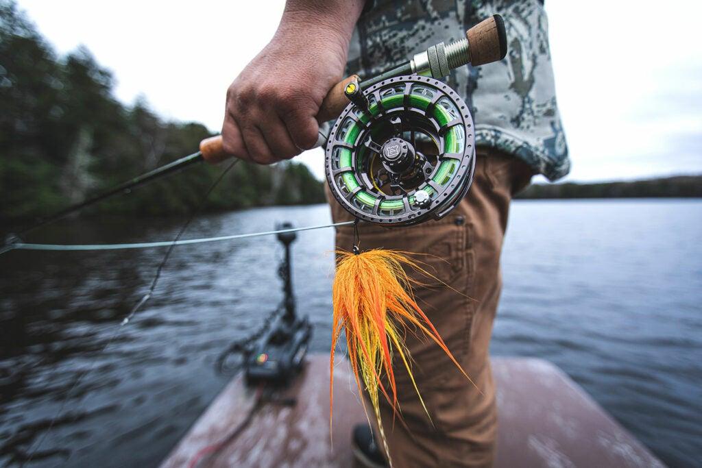 A muskie fishing lure