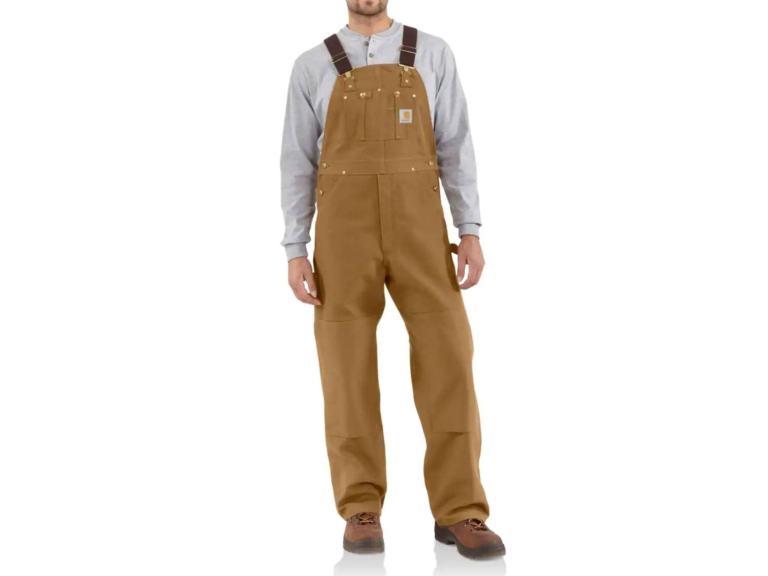 Carhartt Firm Duck Double-Front Overalls (non-quilted)